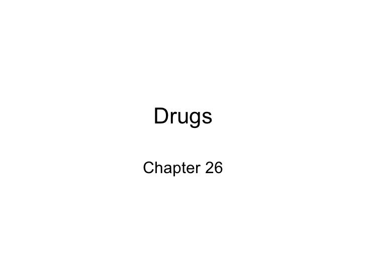 Drugs Chapter 26