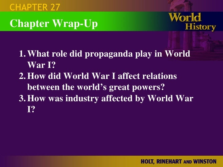 ap world history chapter 27 questions