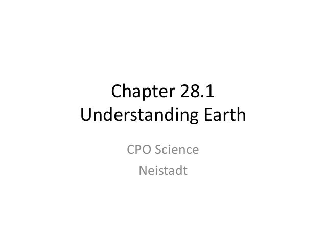 Chapter 28.1 modern geology