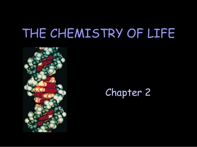 Chapter 2 THE CHEMISTRY OF LIFE