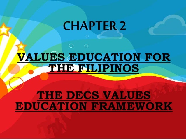 Filipino Values Education Chapter 2 Values Education For