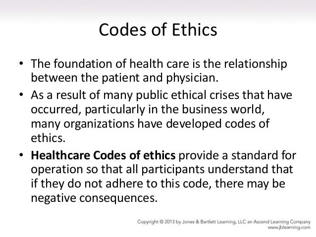codes of ethics in health care essay High quality healthcare also demands attention to ethics, including issues of human values, law, and public policy our service can write a custom essay on medical ethics for you the case i am presenting here is a real ethical story that happened in the university of michigan.