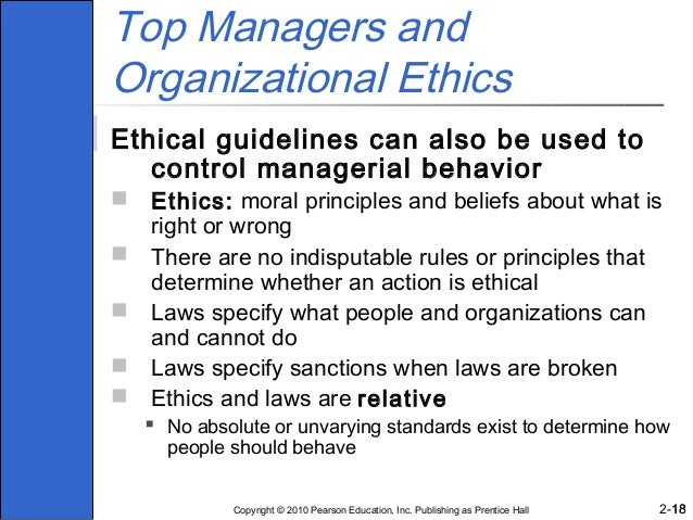 ethics and the manager chapter six Chapter 1 business ethics, the changing environment, and stakeholder management more about essay on chapter 6 business ethics and ethical decision making.