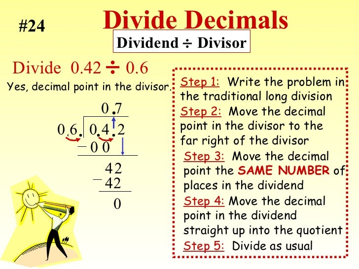 Multiplying And Dividing Decimals - Lessons - Tes Teach