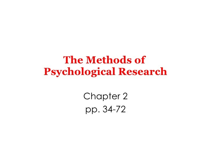Chapter2 the methods_of_psychological_research