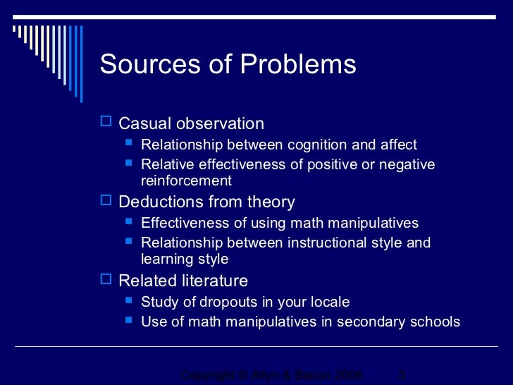 Problem Formulation: Problem Statements and Research Objectives - PowerPoint PPT Presentation