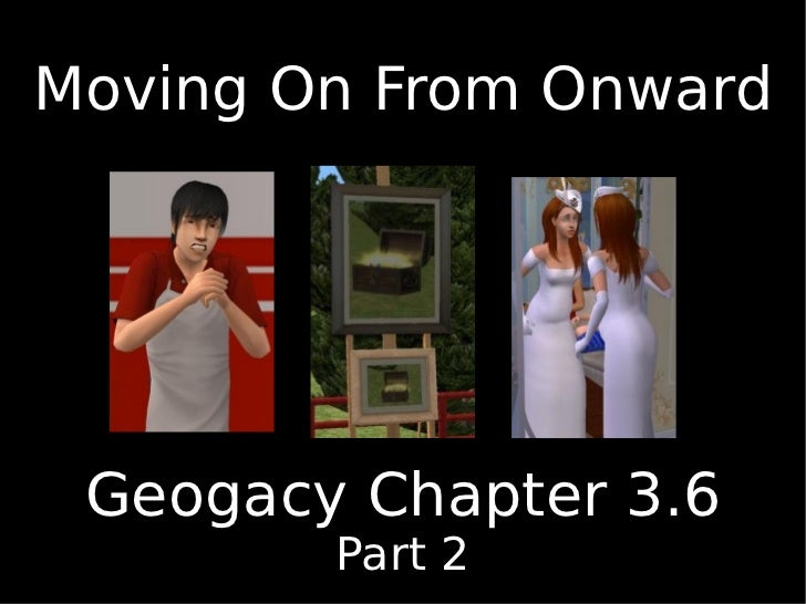 Moving on from Onward Chapter 3.6 part 2