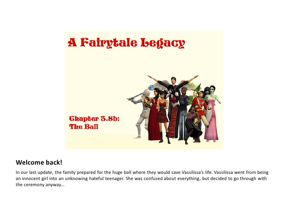 A Fairytale Legacy: Chapter 3, Part 8b