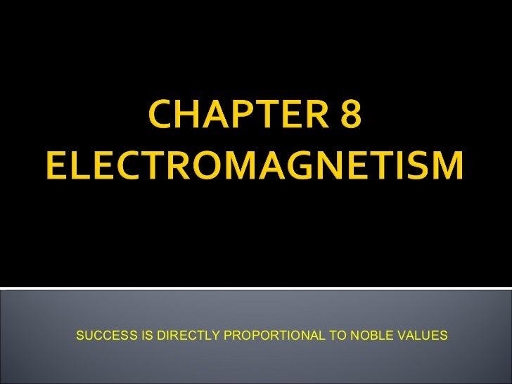 Chapter 3  Electromagnetism