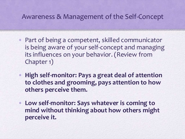 self perception communication essay Self concept and perception essay perception and communication creating and maintaining supporting friendships could help improve perception and self.
