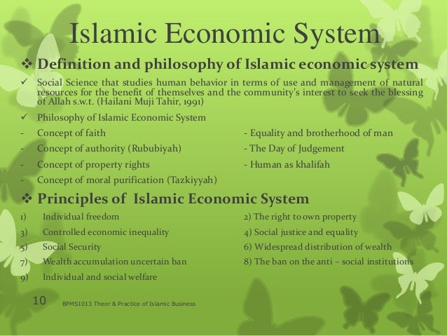 what is islamic economic The world bank group is working with islamic finance to reduce poverty, expand access to finance, develop the financial sector, and build financial sector stability and resilience in client countries islamic finance has emerged as an effective tool for financing development worldwide, including in.