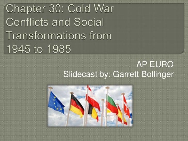 Chapter 30 Cold War Slidecast