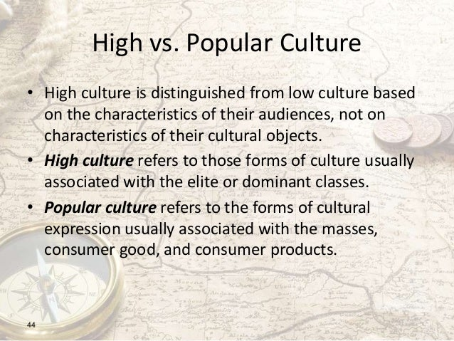 Sociology of Popular Culture topic ideas?