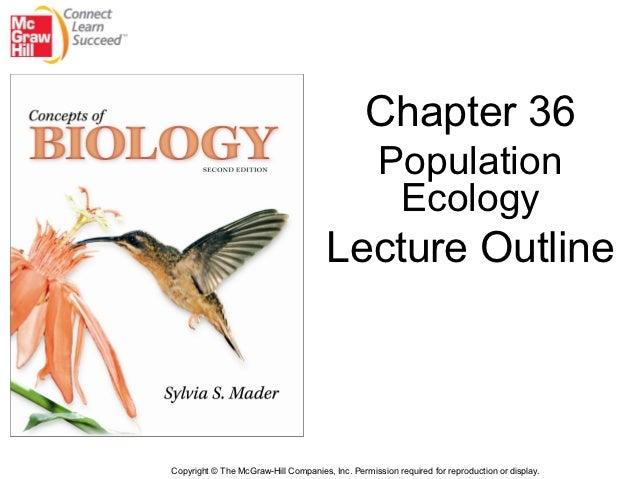Bio 100 Chapter 36