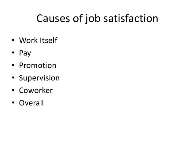 attitudes and job satisfaction ppt Employees' attitudes and job satisfaction are one of the most important concerns  in human resources management.