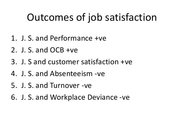 chapter 3 values attitudes and job satisfaction Most of the research in ob has been concerned with three attitudes: job satisfaction, job involvement chapter 3 values, at titudes, and job satisfaction.