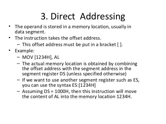 pic assembly language instruction set