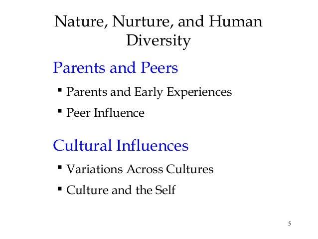 Narrowing down Nature vs. Nurture?