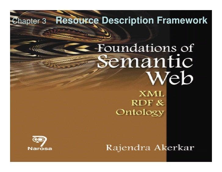 Chapter 3 semantic web