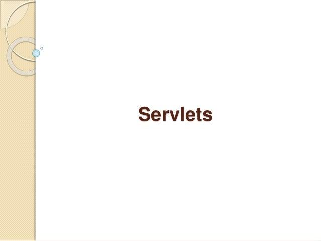 Chapter 3 servlet & jsp