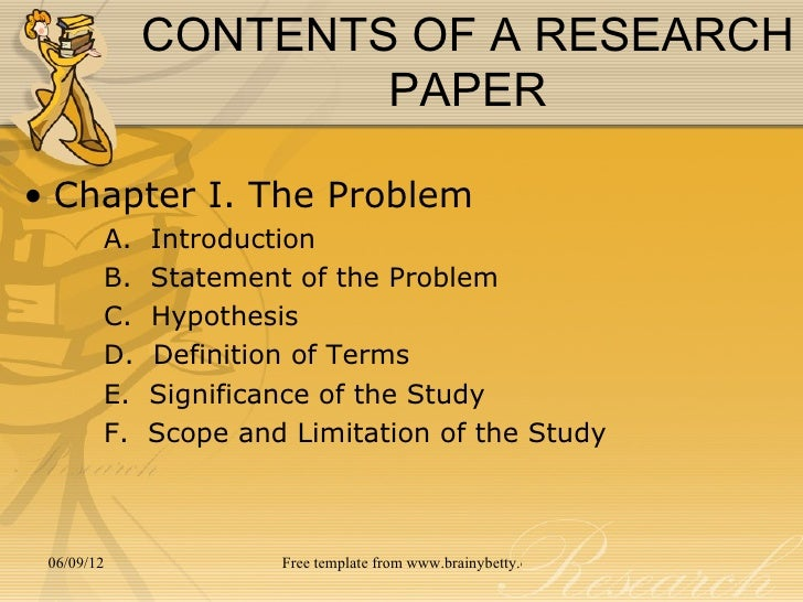 writing statement of problem for thesis Components of problem statement the word count of problem statement for a thesis or dissertation should be in range of 150-300 words the problem statement in any research therefore includes four important segments ie background of the problem: here you can reflect on facts related to the problem.
