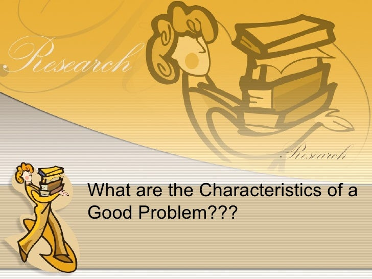 What are the attributes of a good research paper?