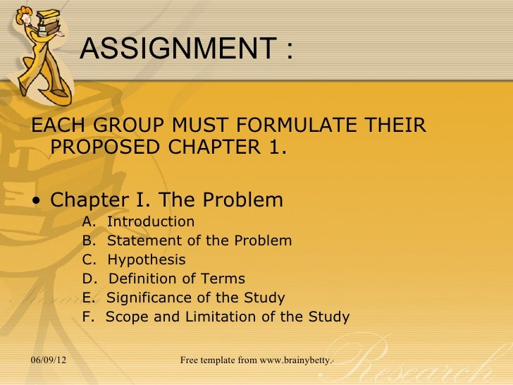Statement Of The Problem In Research Proposal