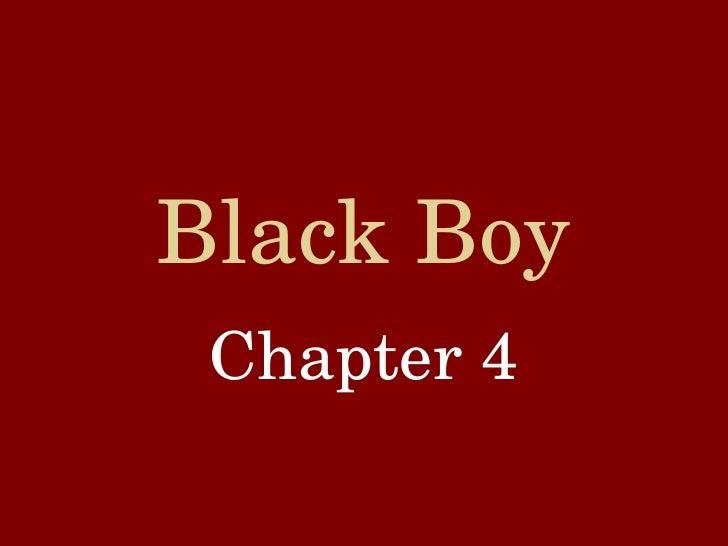 Black Boy Chapter 4