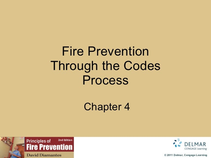 Fire Prevention Through the Codes Process   Chapter 4
