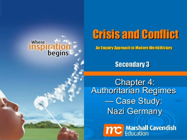 Crisis and Conflict An Enquiry Approach to Modern World History           Secondary 3     Chapter 4:Authoritarian Regimes ...