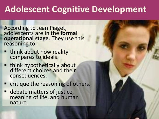 Essays on cognitive development in adolescence