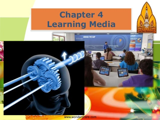Chapter 4 Learning Media  www.wondershare.com  LOGO