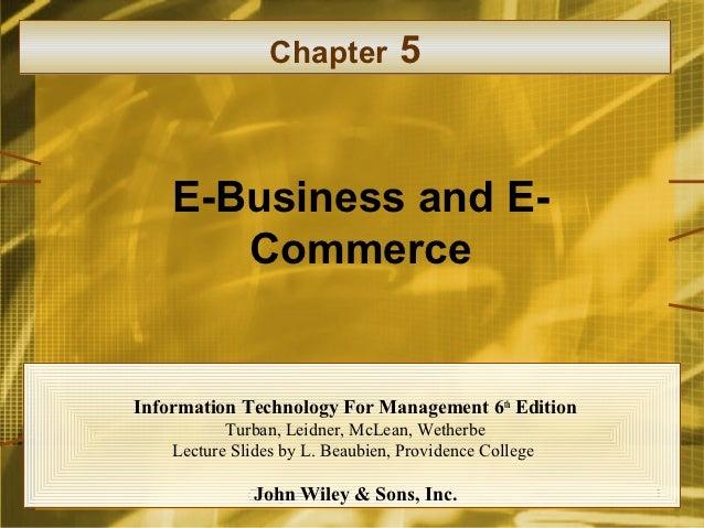 Chapter 4 5-6 - e commerce - m- commerce