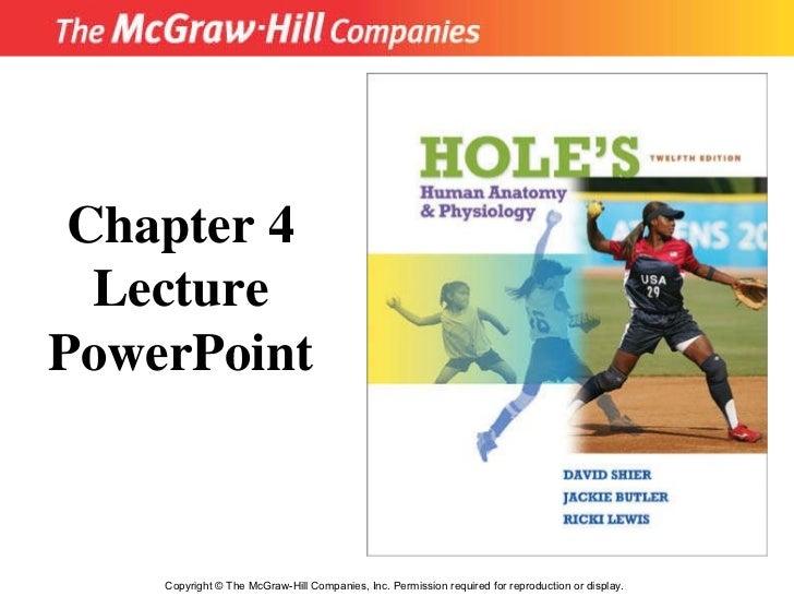 Chapter 4   Cellular Metabolism