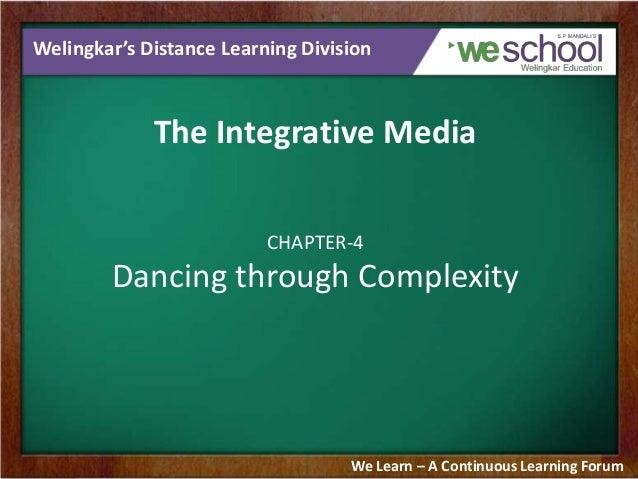 Dancing through Complexity
