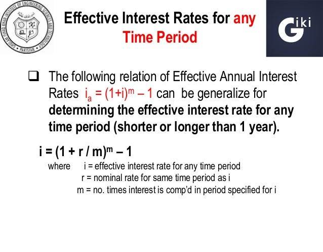 effective interest rate of mfis The committee recommends that effective interest rates charged by microfinance  institutions be subject to a floating ceiling of 10 to 12% over.