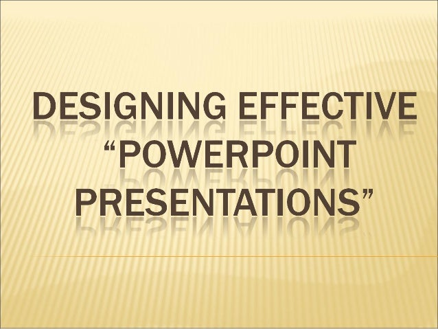 Chapter 4 Powerpoint in the Classroom