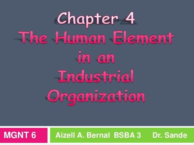 MGNT 6  Aizell A. Bernal BSBA 3  Dr. Sande