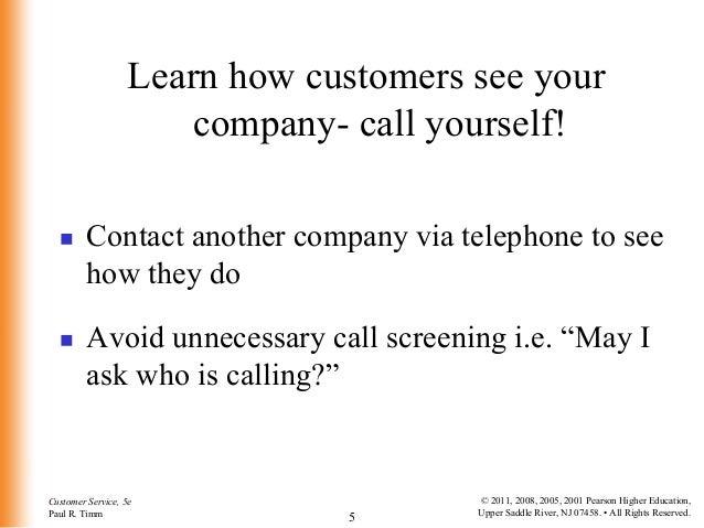 Customer Service 4/5