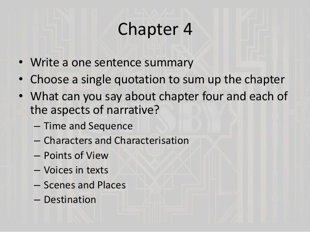 The Great Gatsby essay?10 points?