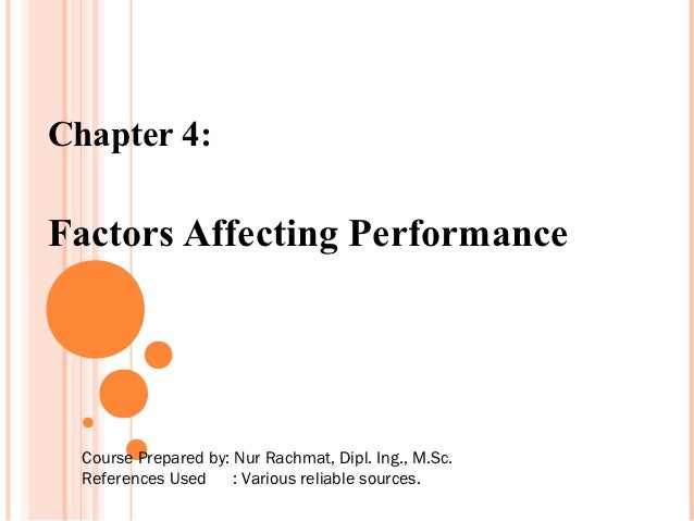 Chapter4hfam(factors affecting performance)
