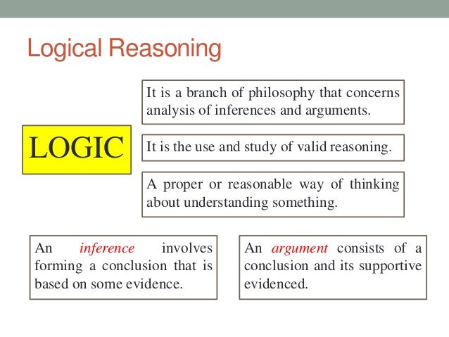 Problem solving logical reasoning