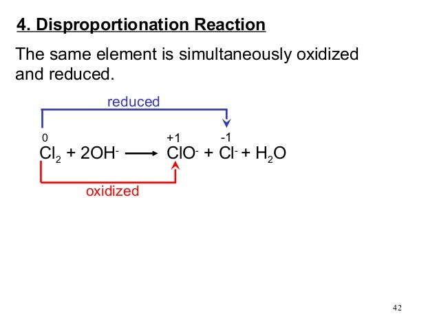 redox and metathesis