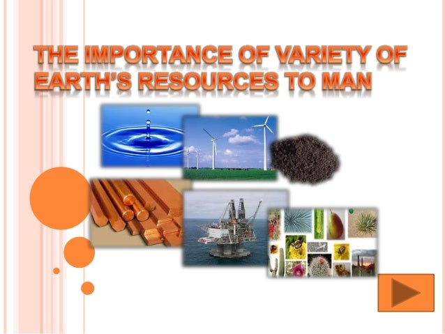 The important of variety of earth 39 s resources to man for Land and soil resources definition