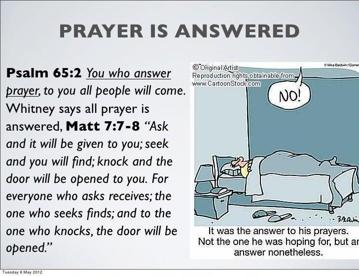 Donald Whitney, Spiritual Disciplines: Chapter 4 prayer c