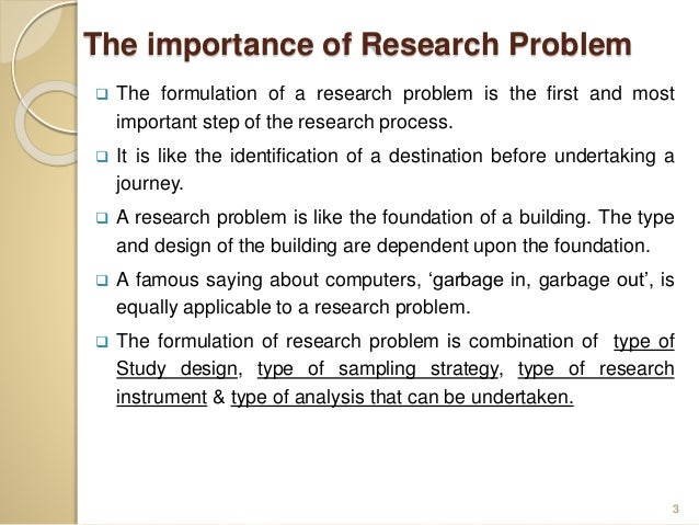 Why is Research Important?