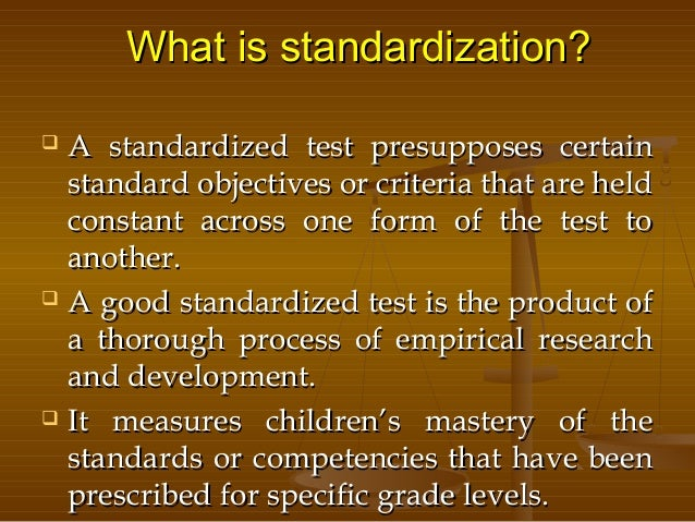 dissertation standardized testing This thesis will attempt to evaluate whether standardized testing and the methods used to assess high performance has helped to create a better education system in .