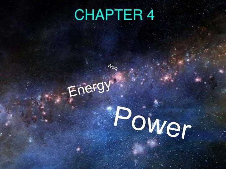 Chapter 4 Summary