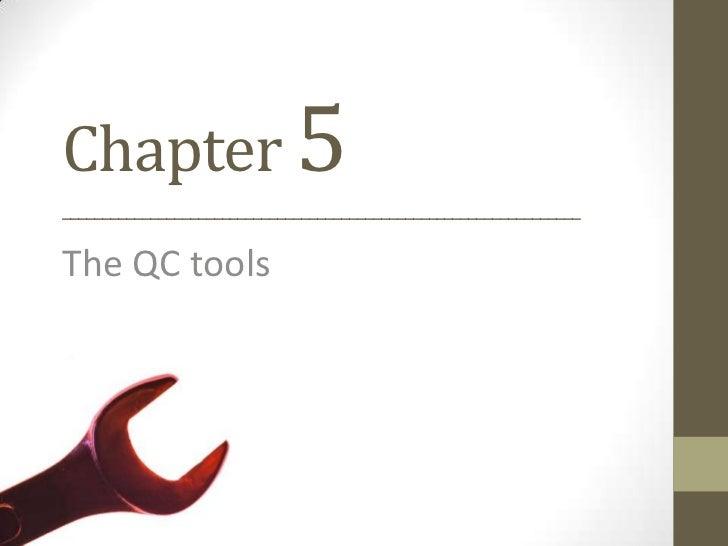 TQM Quality control Tools