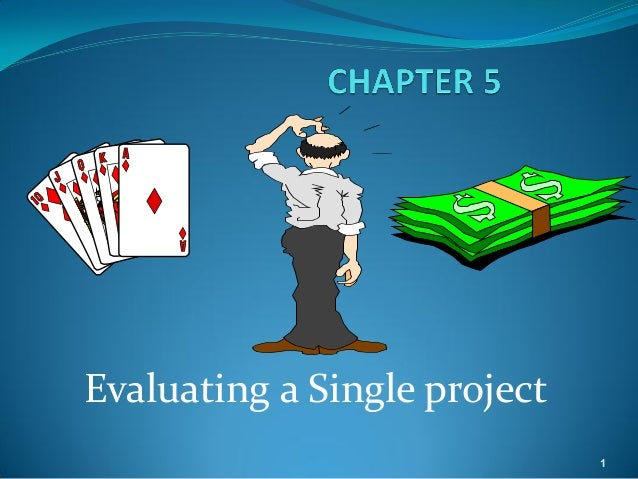 Evaluating a Single project                              1